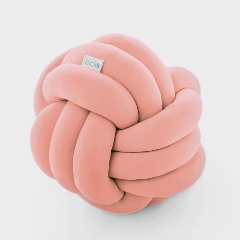 KIDO čvor jastuk za bebe u boji kajsije.