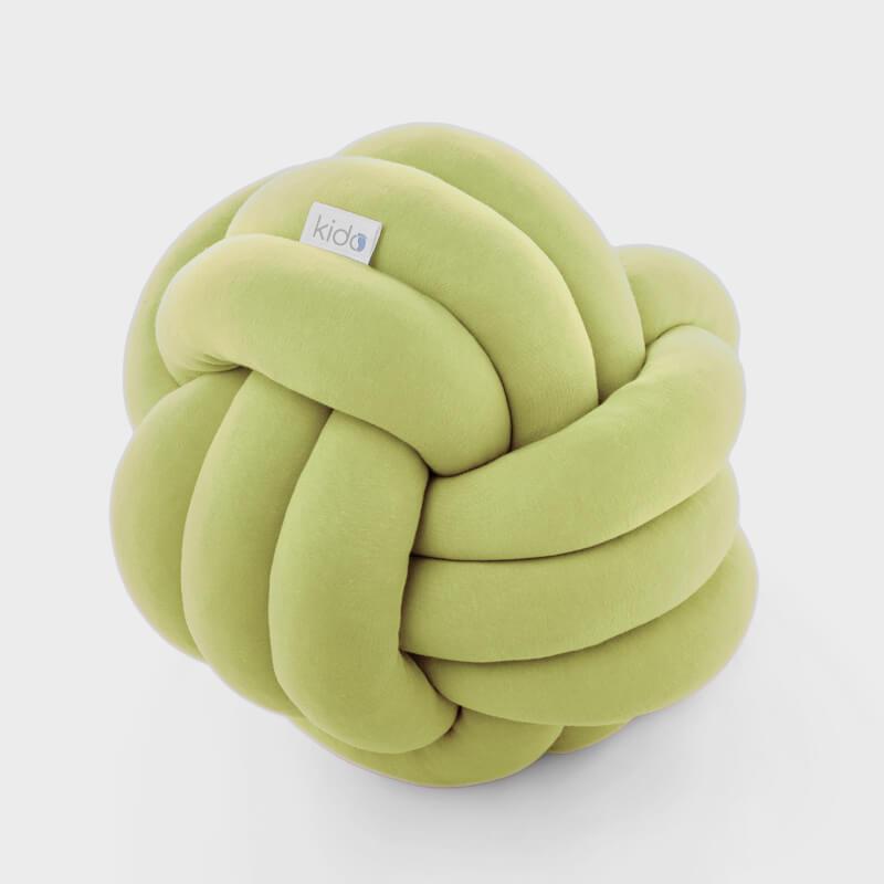 KIDO čvor jastuk za bebe zelene boje.