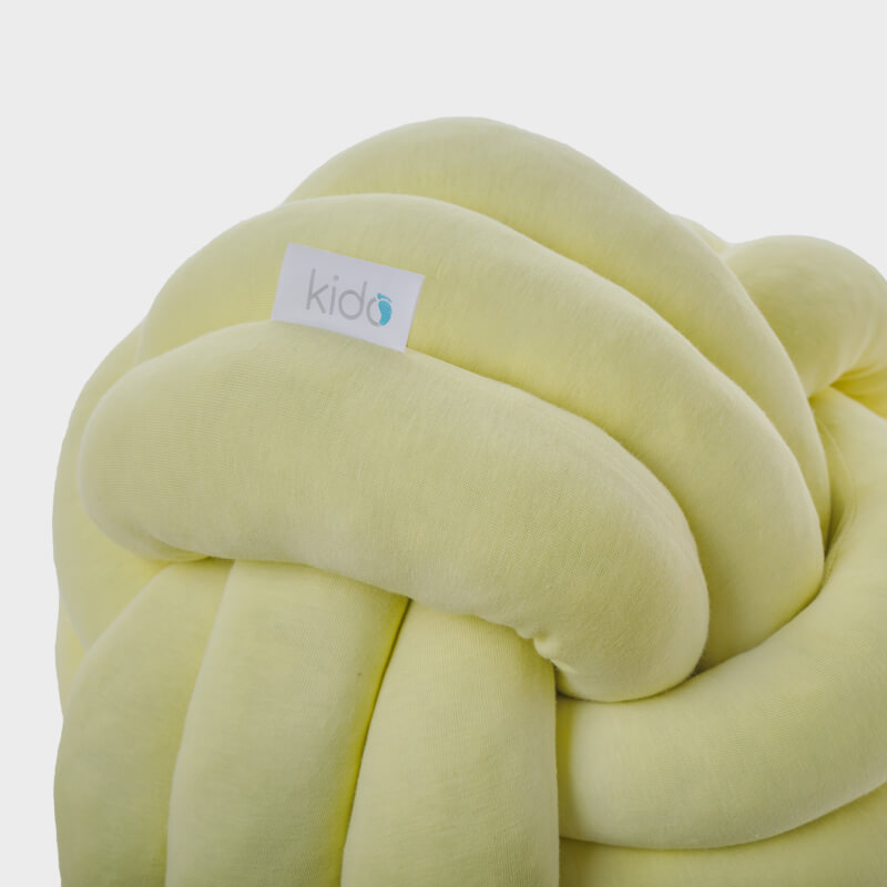 Kido žuti čvor jastuk