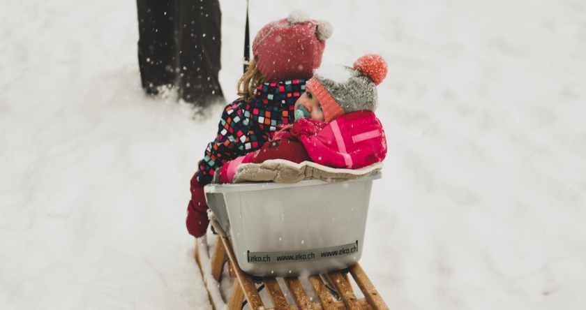 beba na zimovanju